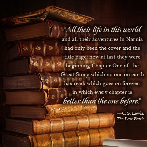Cs Lewis Quotes New Beginning: Quotes From Narnia Last Battle. QuotesGram